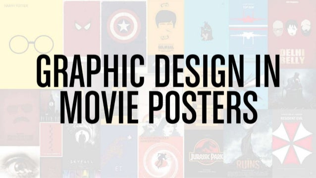 graphic design in movie poster