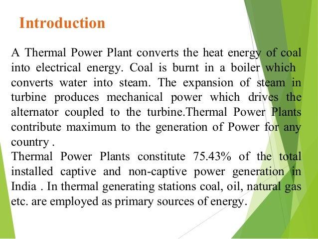 Thermal Power Plant (Bathinda) PPT Slide 3