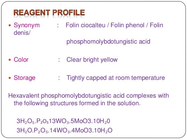 Reagents And Room Temperature