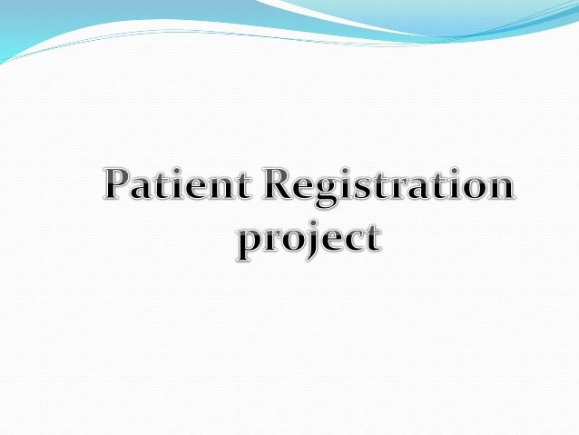 Patient Registration in Hospital