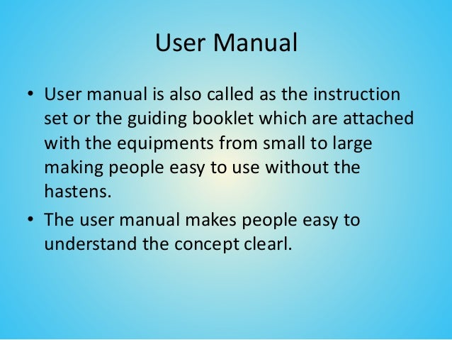 Importance Of User Manual Translation Service
