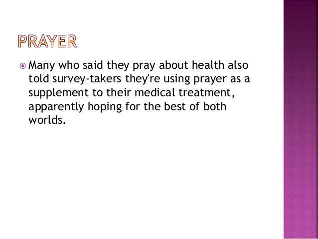 prayer and psychology