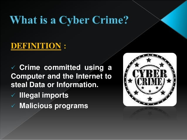 Cyber Crime And Security Presentation