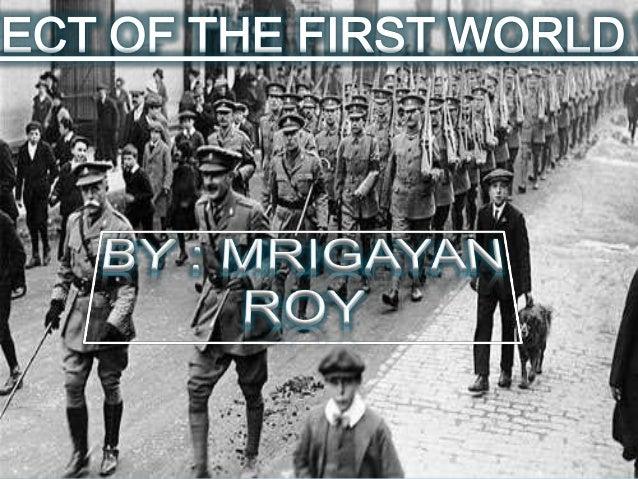 Effects of First world war