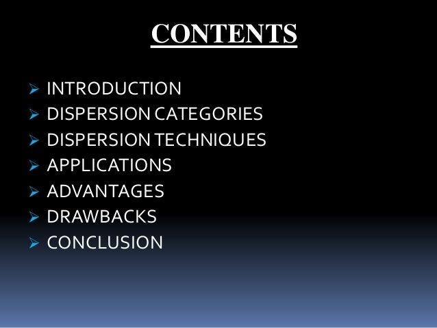 Dispersion Compensation Techniques for Optical Fiber Communication Slide 2