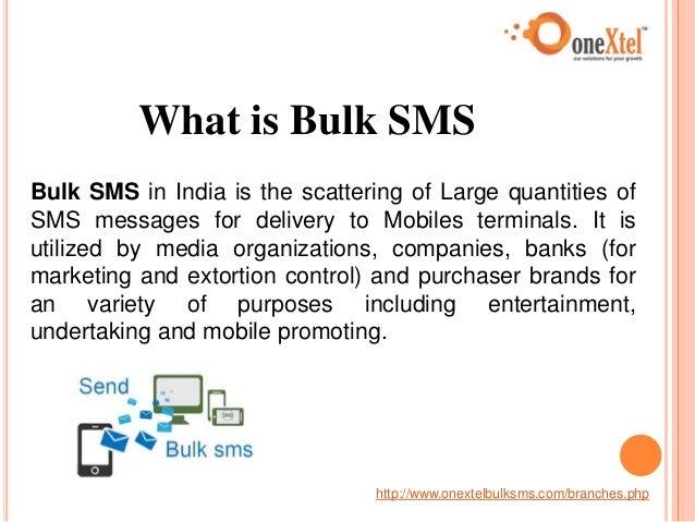 Bulk SMS Service - Bulk SMS in India Slide 3