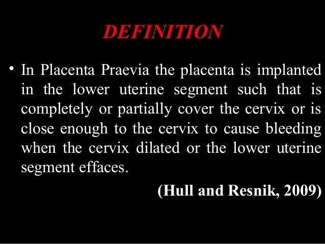 Placenta previa Slide 3