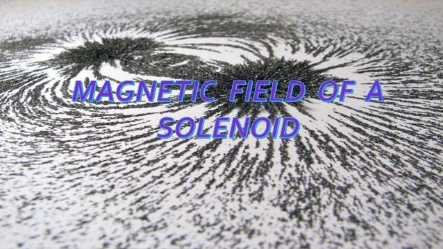 Magnetic field of solenoid