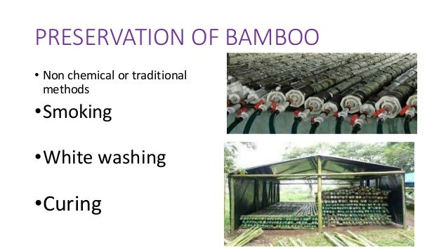 Bamboo as a building material