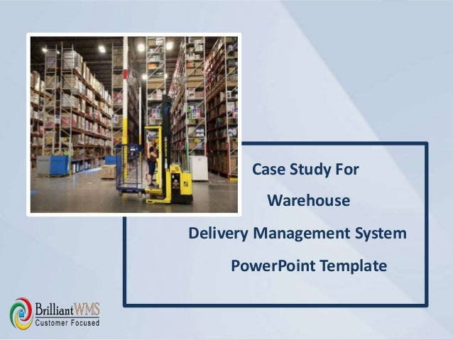 warehouse delivery management system