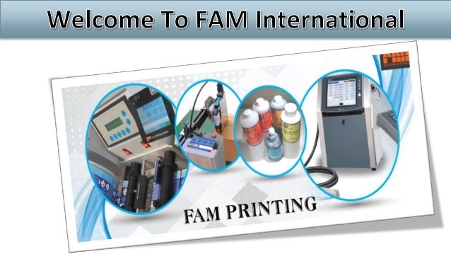 FAM Favata Advanced Marking, the leading Italian producer of equipment for industrial printing systems founded in 1954, be...