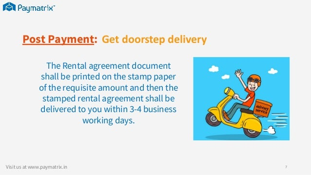 Order Rent Agreements Online