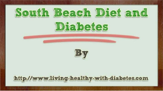 south becah diet cons for a diabetic