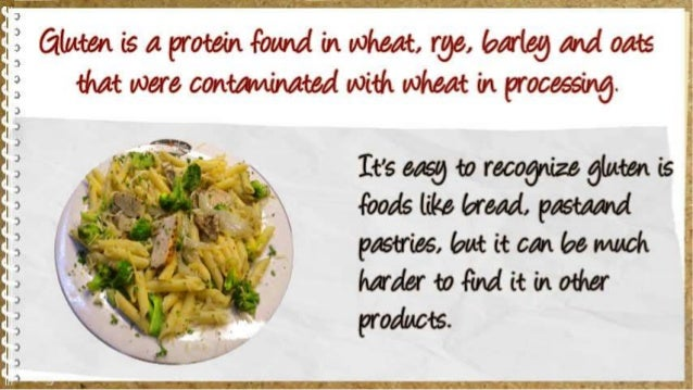 Six Sources of Gluten You Probably Did Not Know Slide 3