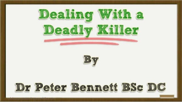 Dealing With a Deadly Killer