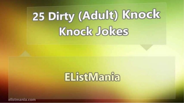 Adult Knock Knock Joke 58