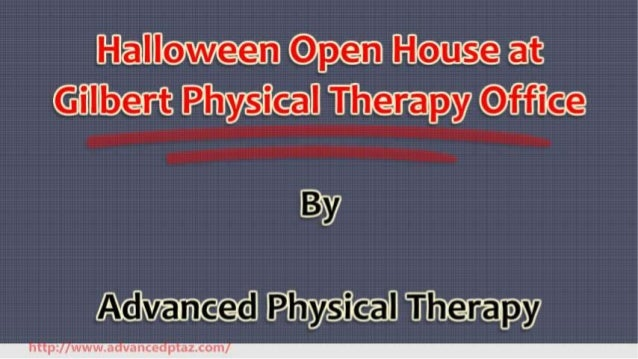 Halloween Open House at Gilbert Physical Therapy Office