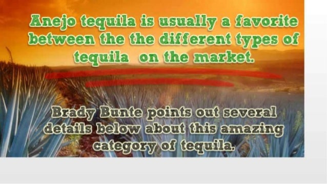 Timeless Quality and Standards of Anejo Tequila by Brady Bunte