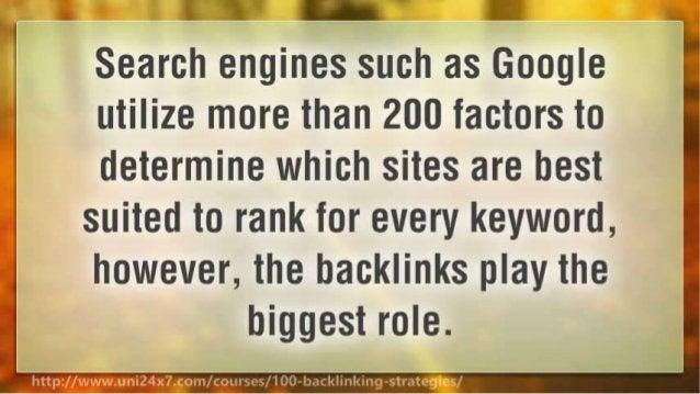 100 Backlinking Strategies