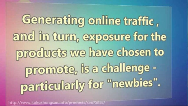9 Ways to Generate Massive Traffic: Search Engine Rankings