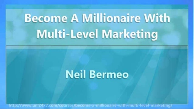 Get Rich With Multi-Level Marketing Slide 3