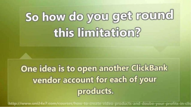 How to Create Video Products and Doube Your Profits in Clickbank