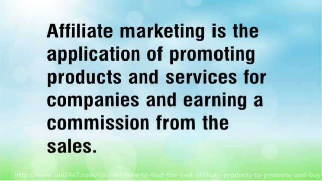 How to Find The Best Affiliate Products to Promote And Buy Your Dream House Slide 3