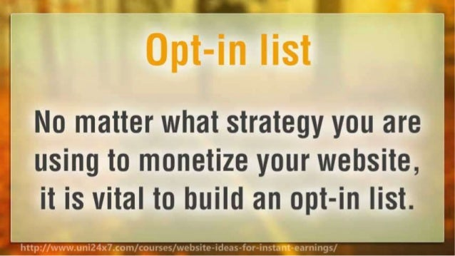 How to Make Money Online With Your Website