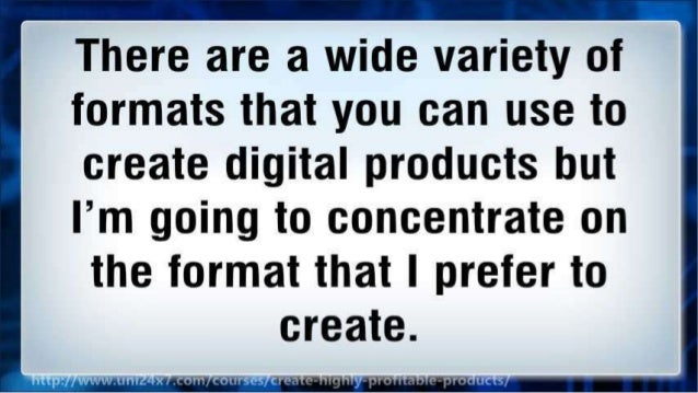 How to Make Profitable Digital Products