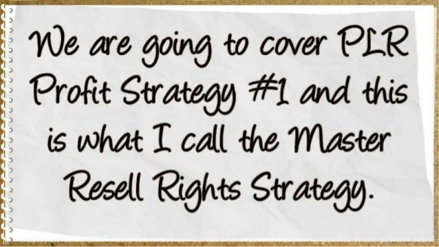 How To Rake In MASSIVE Recurring Profits From Private Label Rights Slide 3