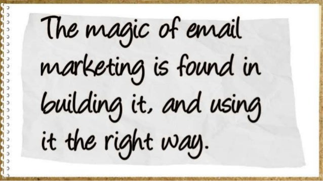 How to use emails effectively, encourage your subscribers and get maximum results Slide 3