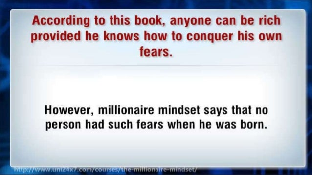 Millionaire Mindset - How to Get Rich