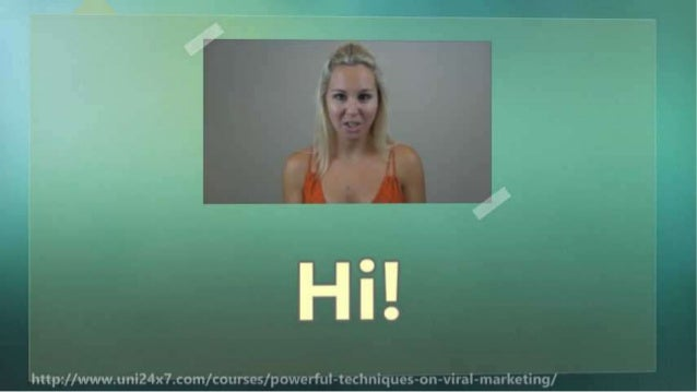 Powerful Techniques on Viral Marketing