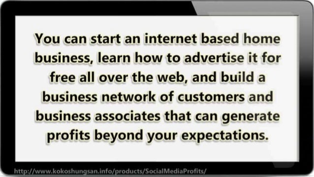 Start a Small Business: Use Free Social Media to Generate Big Profit Slide 3