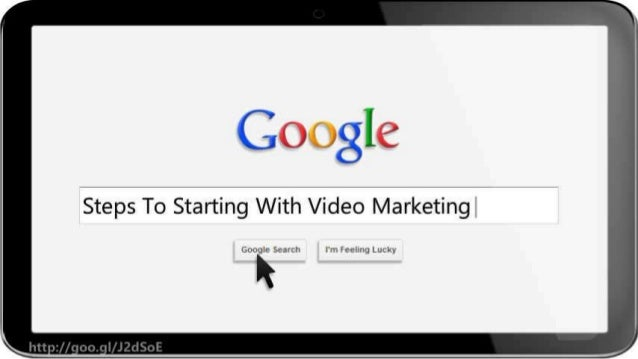 Steps To Starting With Video Marketing Slide 2