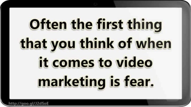 Steps To Starting With Video Marketing Slide 3