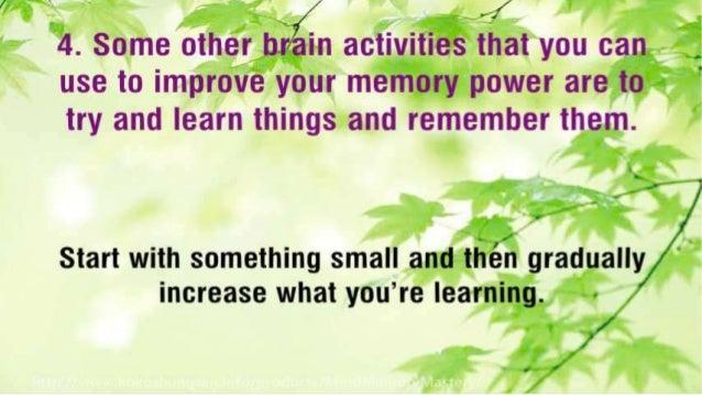 Top 10 Brain Activities to Improve Your Memory Power