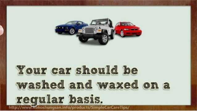 Useful Tips for Total Car Care
