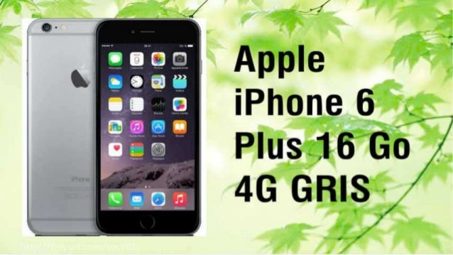 Promotion Iphone 6 Plus Gris -26%