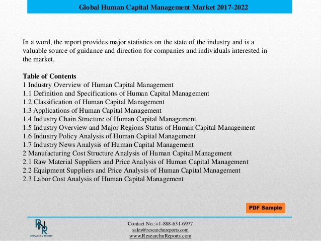Human Capital Management Market worth 251 Billion USD by 2022