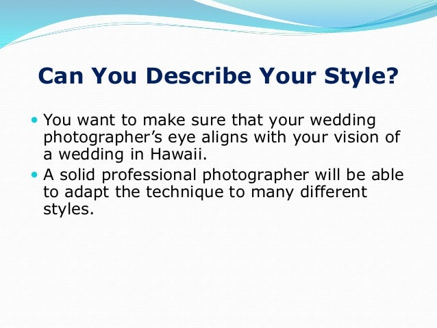 Ppt 8 questions to ask a hawaii wedding photographer 3 junglespirit Gallery