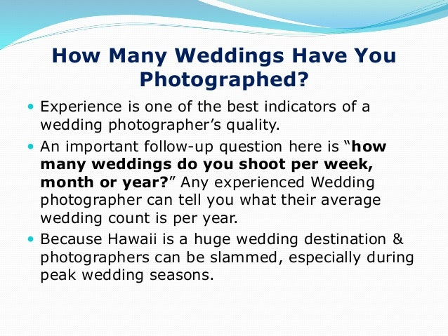 Ppt 8 questions to ask a hawaii wedding photographer 5 junglespirit Gallery