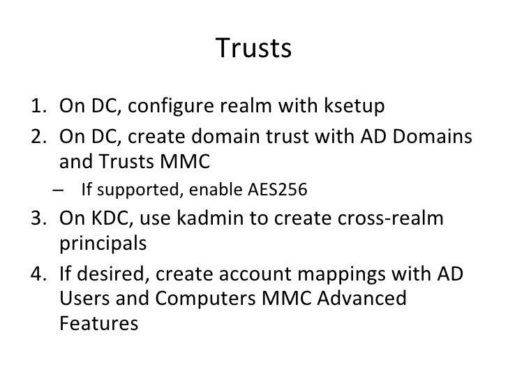 Windows 7 Kerberos Login using External Kerberos KDC ...
