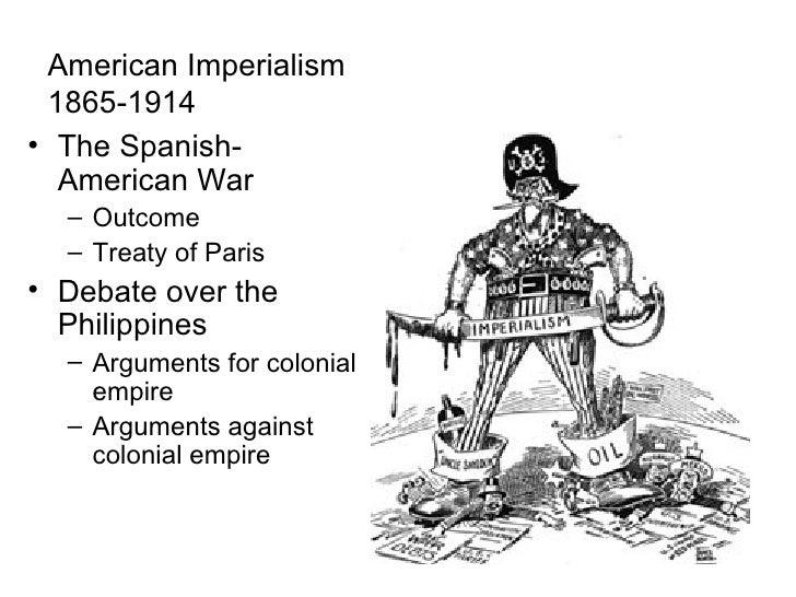 american imperialism timeline