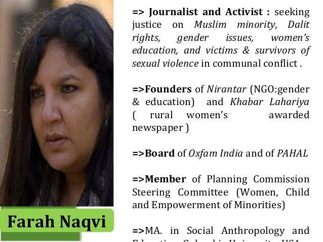 Farah Naqvi : Works and Educational reform