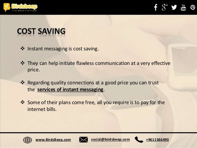 Instant Messaging for Business - Pros and Cons