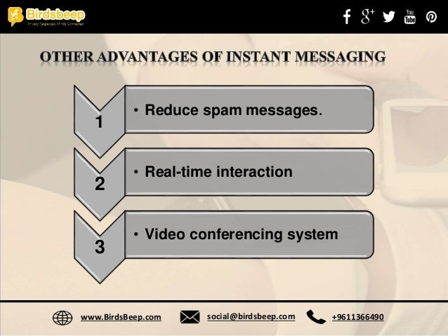 Instant Messages For Business : Instant messaging for business pros and cons