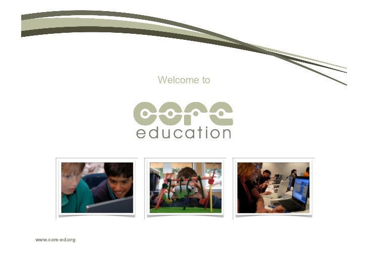 Welcome towww.core-ed.org