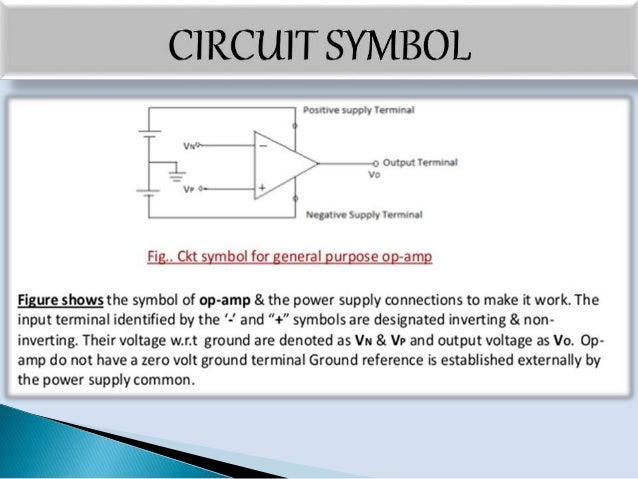 operational amplifier  op