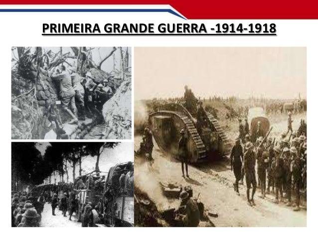 PRIMEIRA GRANDE GUERRA -1914-1918